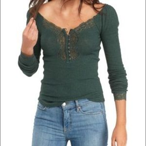Free people ti the west Henley top